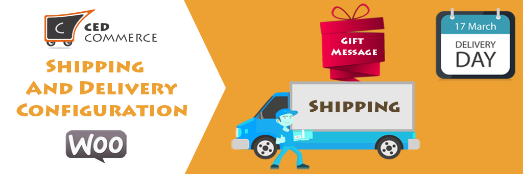 Shipping delivery management banner