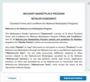 Walmart Retailer Agreement-image