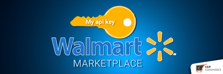 How to get API keys from Walmart Marketplace?