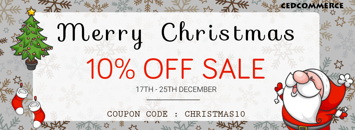 Cedcommerce Is Back Again With Its Pre- Christmas Discount Deals To ...
