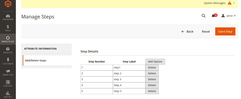 Multi Step Registration