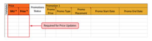 price updates sheet image