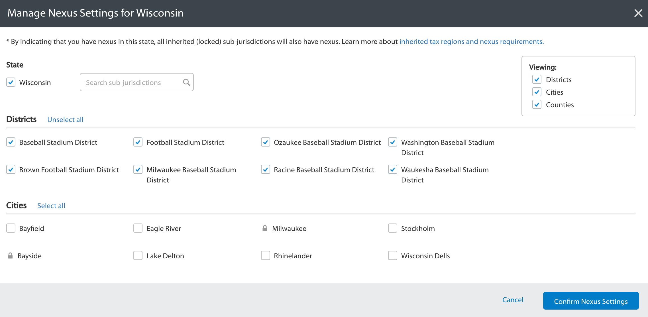 How to configure Sales Tax Information in Walmart Seller Center: Setup Nexus: Image Source: Walmart Knowledge Base