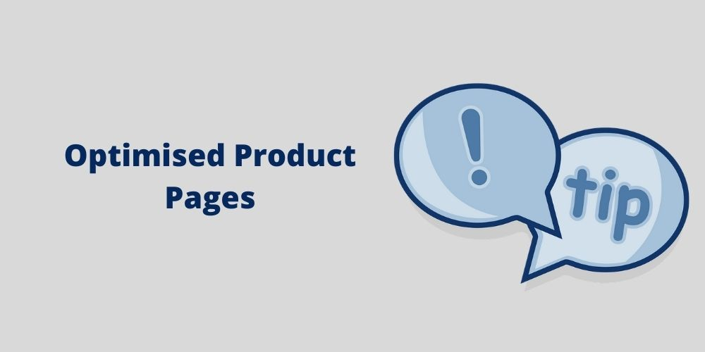 optimised product pages