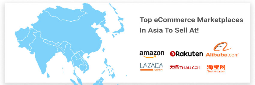 Top e-commerce sites in Asia to sell at and turn huge profits!