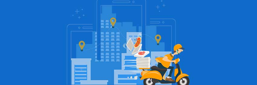 What is a hyperlocal delivery model and how does it work?