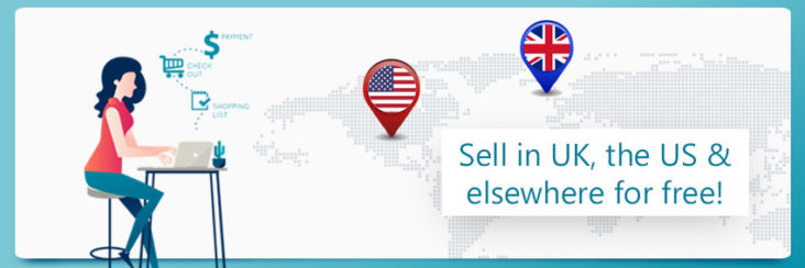 Global ecommerce marketplace: Sell-in-UK,-the-US-&-elsewhere-for-free