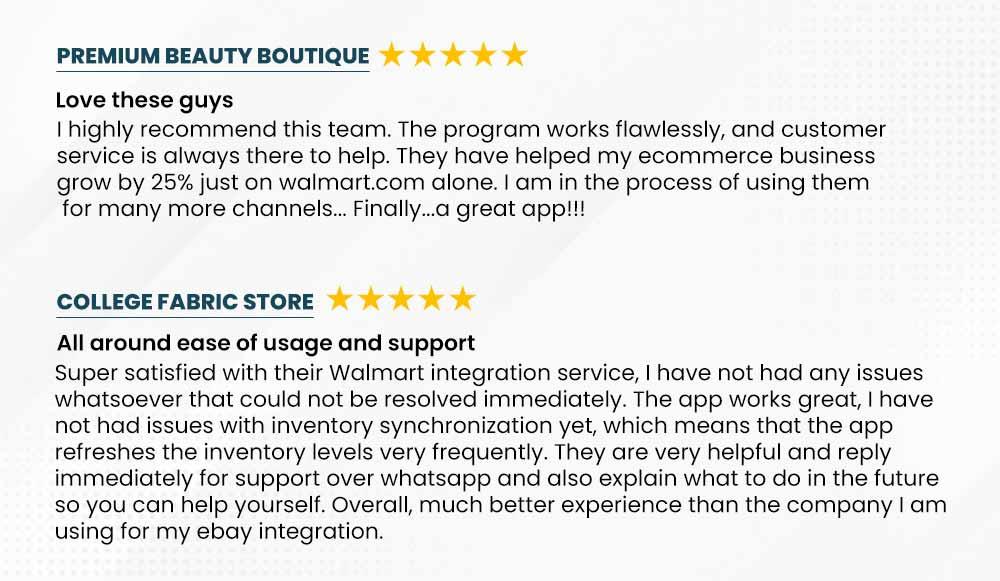 Walmart Seller Reviews-image