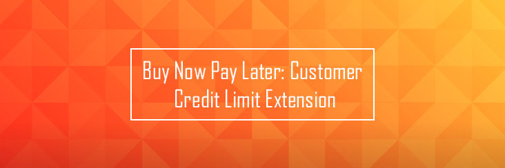 Customer credit limit extension