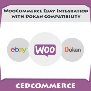 Dokan compatible eBay WooCommerce Integration