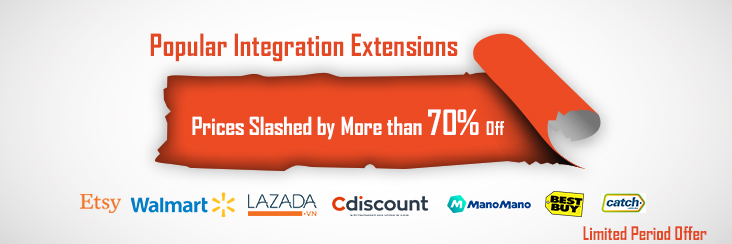 More than 70% OFF on Popular Integration Extensions by CedCommerce