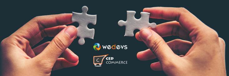 cedcommerce wedevs dokan partnership