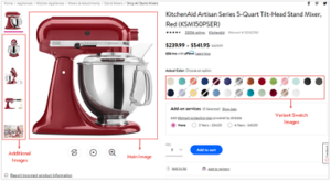 images sample for Walmart products