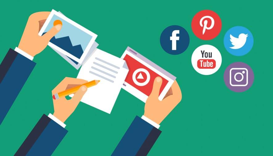 social media posts for business