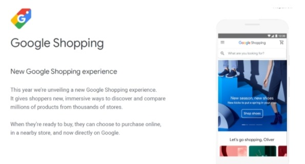 sell on google shopping