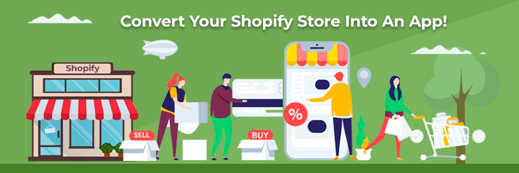 Convert Your Shopify Store  Into An App! Easiest Guide Available Online