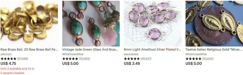 best selling items on etsy