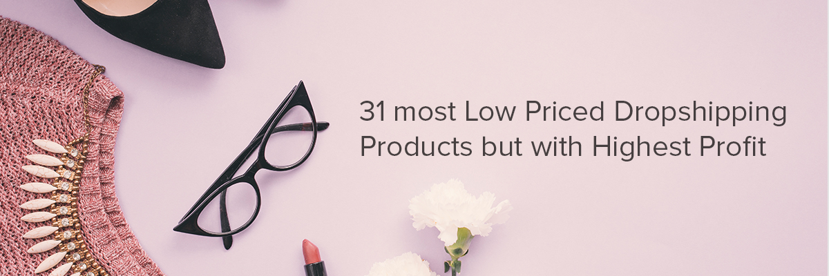 31 Most Low Priced Dropshipping Products but with Highest Profit (Infographic)