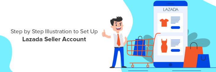 Lazada online seller sign up