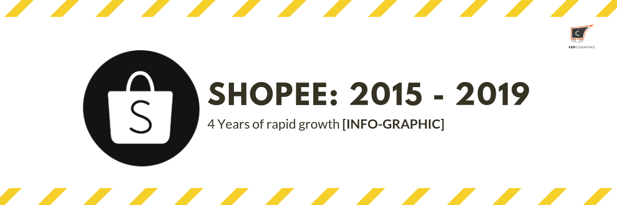 In Info Graphic Shopee S Growth Over The Years