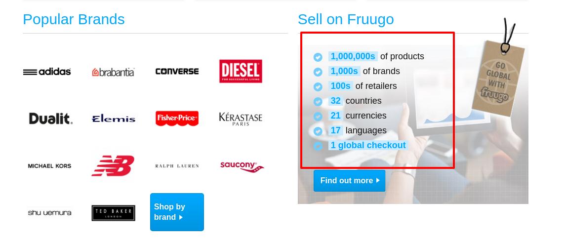 overview of fruugo marketplace