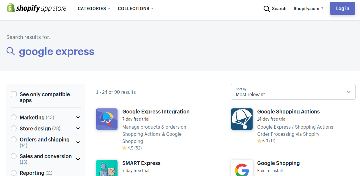 Set up Google Express App for your Shopify Store in Simple