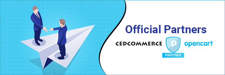 Official Opencart Partners CedCommerce is now the official development partners of opencart