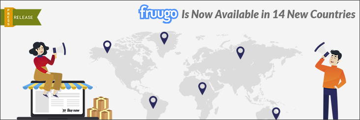 Fruugo marketplace is now available in 14 new countries