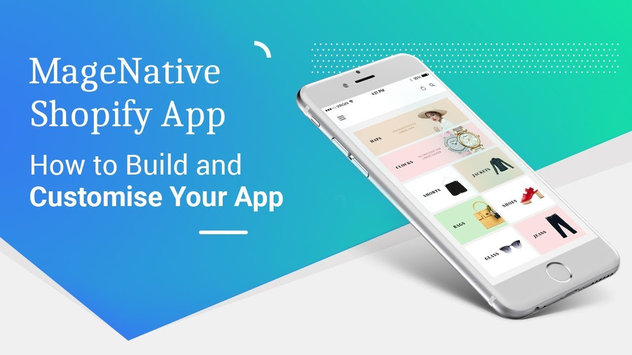 MageNative's Shopify Mobile App