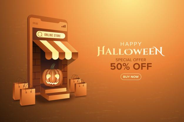 Halloween online sale
