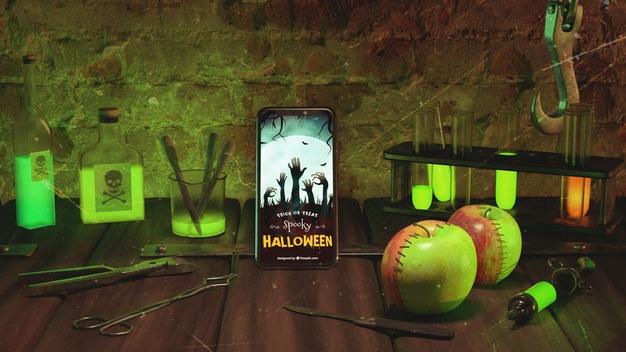 Halloween themed mobile app