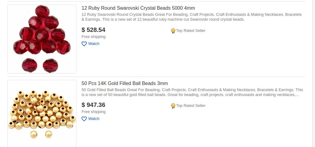 ebay crafts category