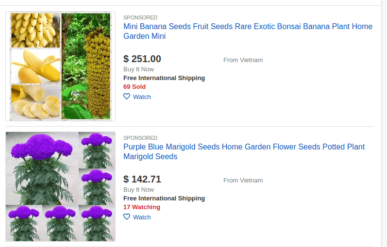 ebay best selling items- gardening