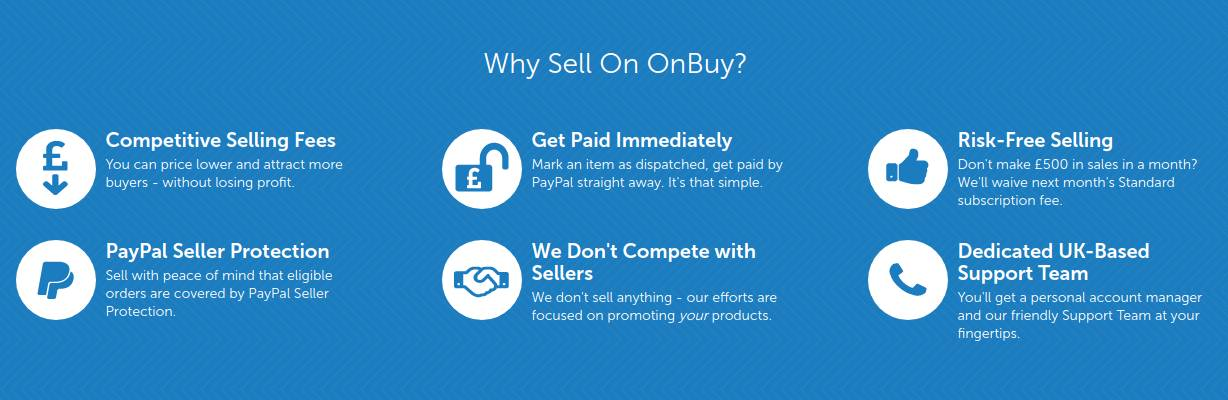 why to sell on onbuy shop