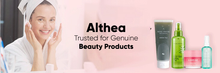 Althea - Online store Synonymous with Genuine Beauty Products