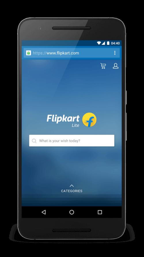 pwa of flipkart
