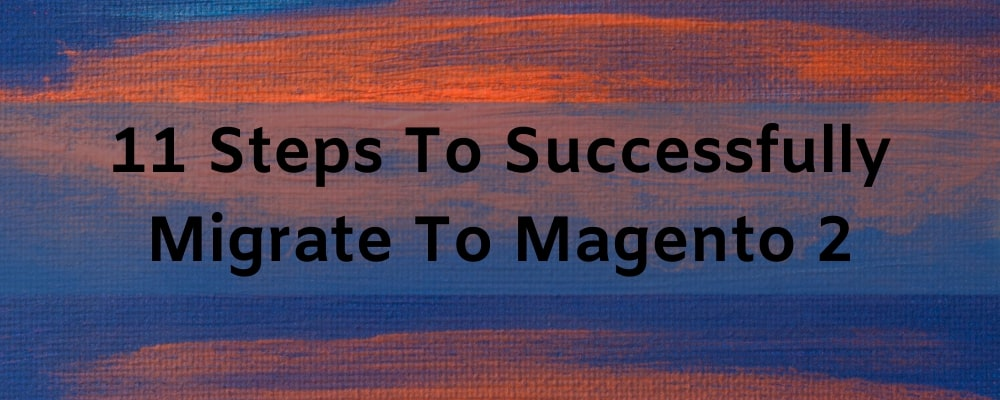 11 Steps To Successfully Migrate To Magento 2 case study
