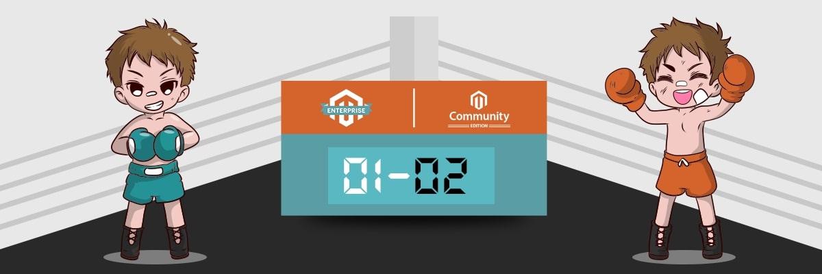 Magento Enterprise edition (Magento Commerce) vs Magento Community edition (Magento Opensource) 3
