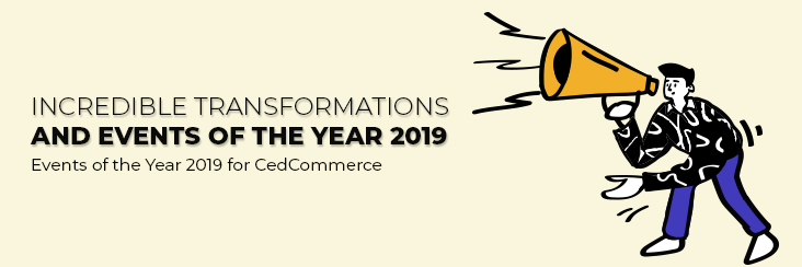Year 2019 at a glance for CedCommerce