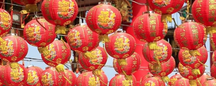 decorations of chinese new year