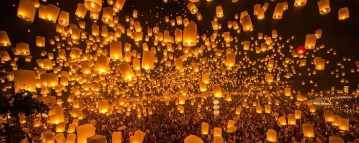 lanterns during chinese new year