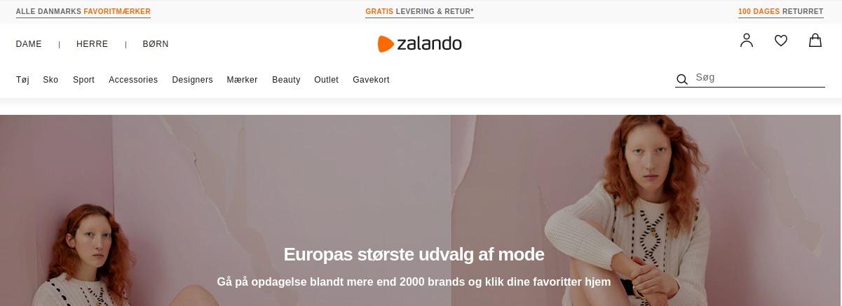 zalando eCommerce in Nordic