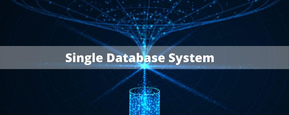 single database system in magento community