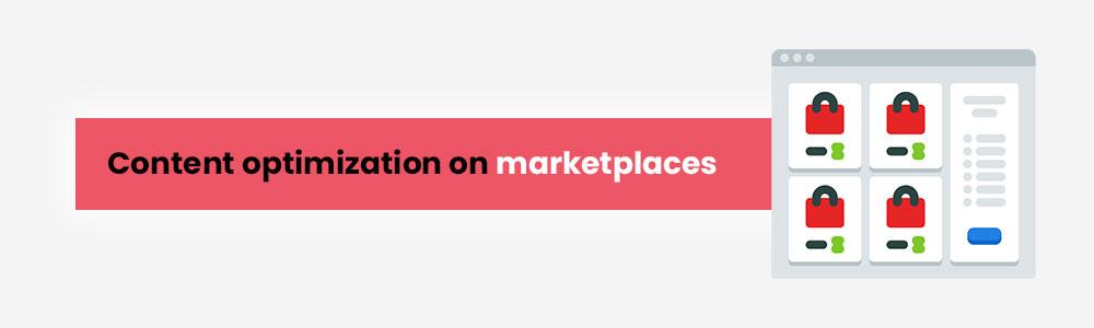 content optimisation on marketplaces - Covid-19 lockdown