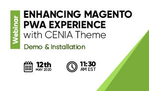 Enhancing Magento PWA Experience with CENIA theme – Demo & Installation