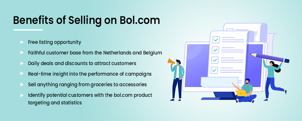 Benefits of selling on Bol.com