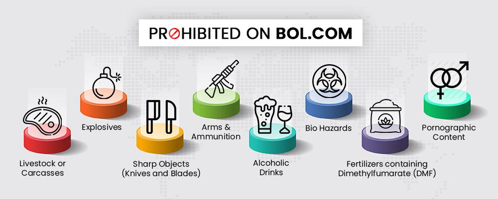 prohibited on bol.com