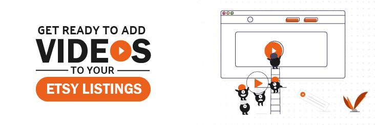 Etsy listing video