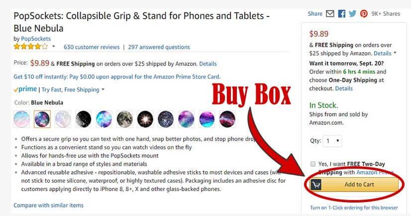 Amazon BuyBox