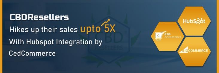 hubspot-bigcommerce integration banner